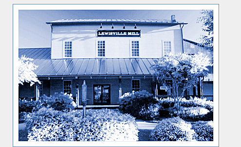 Lewisville Mill Today and The Enchanted Cottage and Scrapbook Store