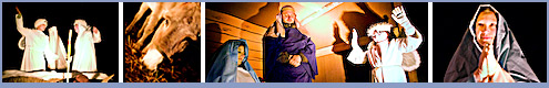 Photos of the Live Nativity at Shiloh Lutheran Church in Lewisville, NC