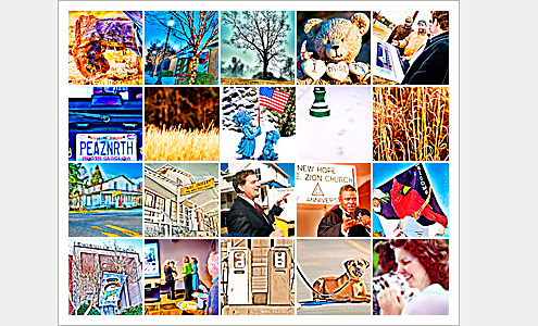 100 Moments Collage (Images 81-100) - Life in Lewisville, North Carolina (Forsyth County). Deb Phillips, photographer.