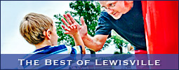 Held at Shallowford Square, the First Annual Best of Lewisville Festival was sponsored by Karate International of Lewisville and MediaFit.