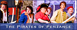West Side Civic Theatre sponsored The Pirates of Penzance at Shallowford Square in Lewisville, NC.