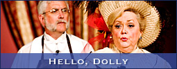 The West Side Civic Theatre produced the Hello, Dolly musical at Shallowford Square in Lewisville, NC (Forsyth County).