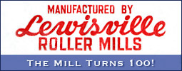 Lewisville Roller Mills celebrates its 100th year in 2010.