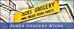 Jones Grocery Store resides on Shallowford Road in Lewisville, NC, not far from the Yadkin River (Forsyth County).