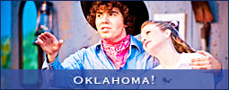Oklahoma! was produced by the West Side Civic Theatre at Shallowford Square in Lewisville, NC (Forsyth County).
